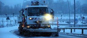 Snow storm France