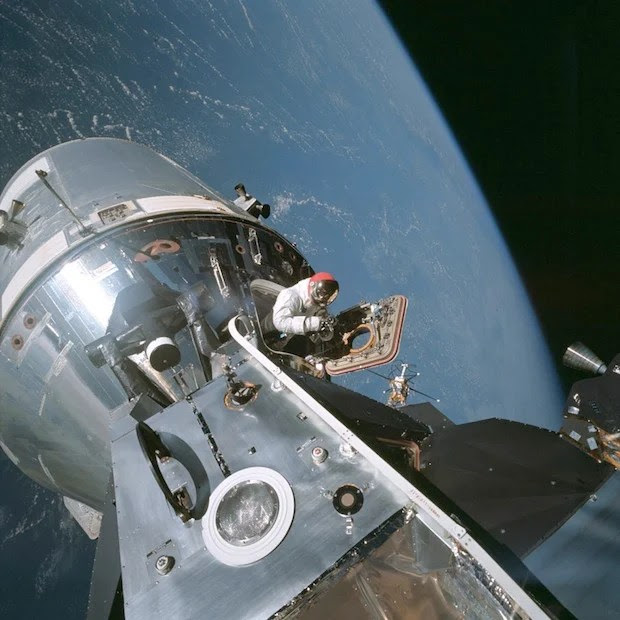 Incredible Online Gallery of High Res Film Scans from Every Apollo Mission apollo9 1