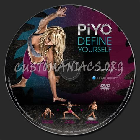 piyo workout dvd label dvd covers labels