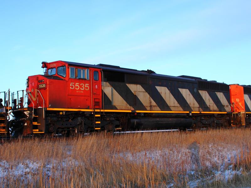 CN 5535 in Winnipeg Manitoba