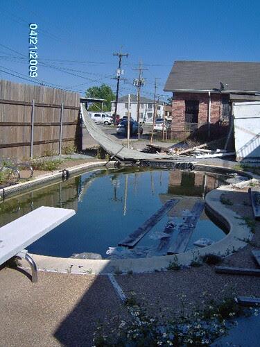 Dangerous Pool on corner of Fig & Dante