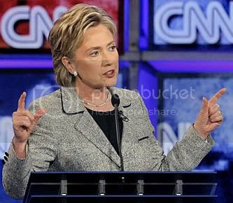 Clinton's Eyebrows