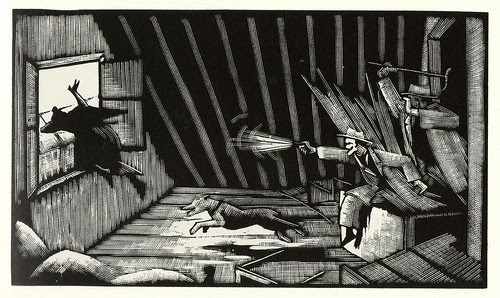 Graphic Novel illustration by Otto Nuckel a