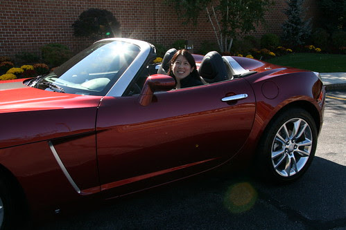 Ready to drive the Saturn SKY Roadster