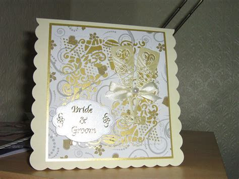 Wedding card using tattered lace dies   handmade cards