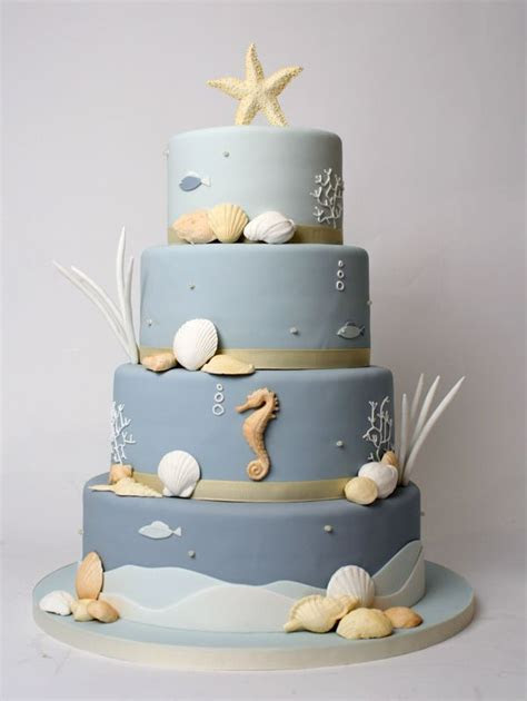 Underwater Wedding Cake by Charm City Cakes   Beautiful