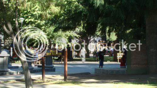 Plaza San Martín, Junín de los Andes' main square
