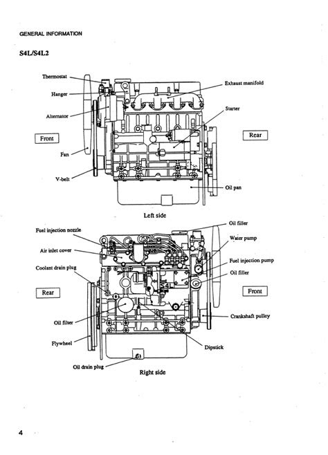 Mitsubishi Diesel Engines SL-series PDF Service Manual