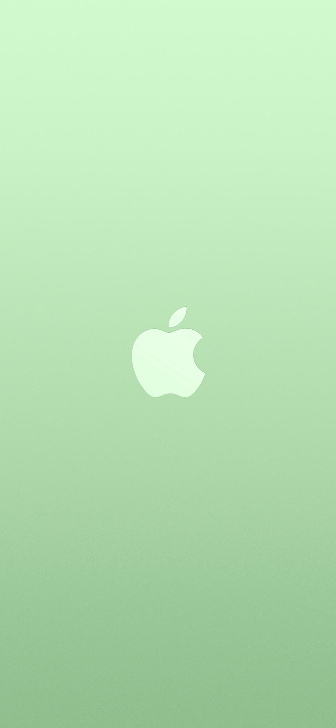 Iphonexpapers Com Iphone X Wallpaper Au18 Logo Apple Green White