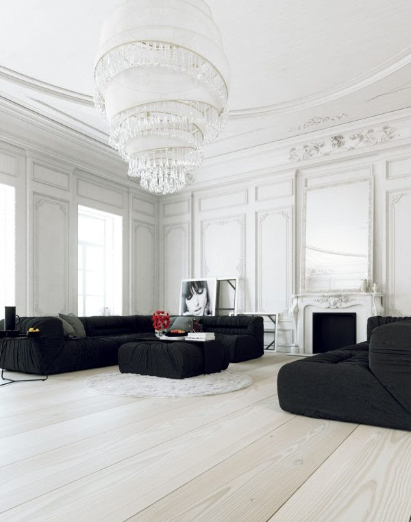 30 White Living Rooms That Exude Purity And Peace Free Autocad Blocks Drawings Download Center