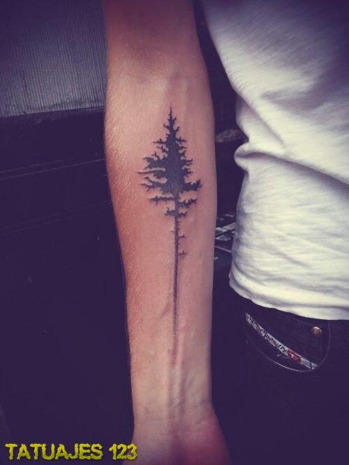 árbol Tatuado En El Brazo Tatuajes 123