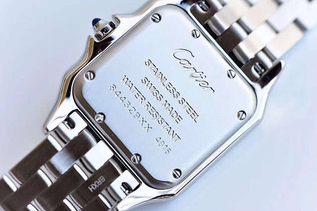Cartier Panthere Solid Case Back
