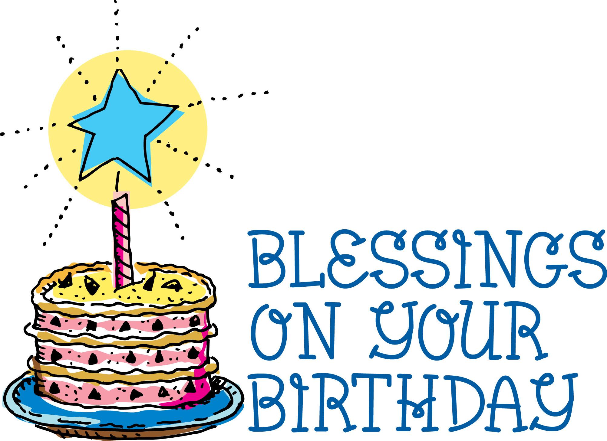 December Clip Birthday Cake Art