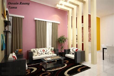 interior ruang tamu rumah minimalis ~ desain interior