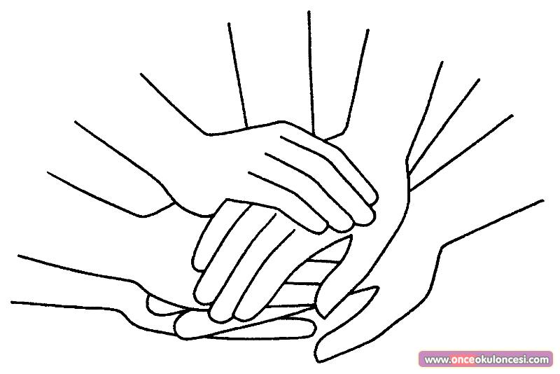 Değerler Eğitimi Sevgi Dostluk Boyama Sayfaları