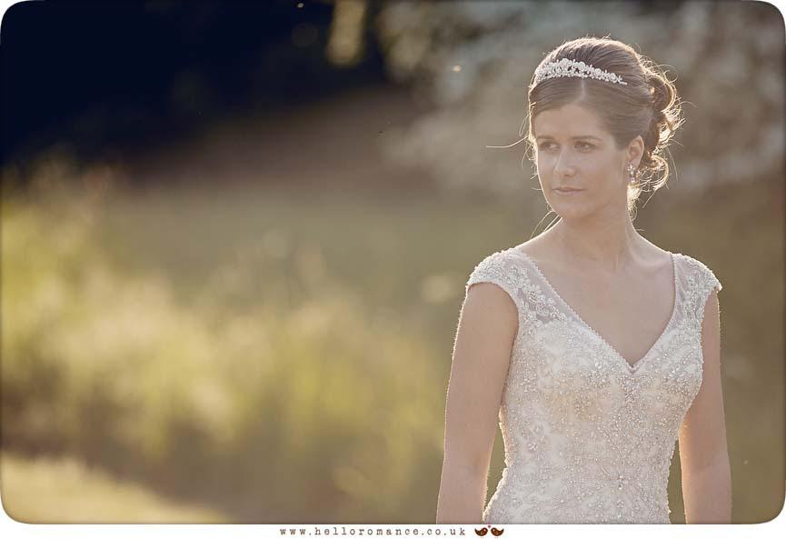 Bridal portrait Suffolk, beautiful wedding photo - www.helloromance.co.uk