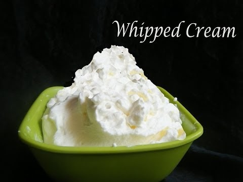 Deeps Kitchen: Whipped cream in just 3 minutes
