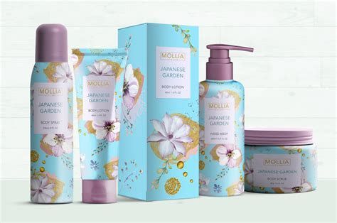 Cosmetics packaging design and branding design   NV