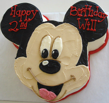 Mickey Mouse Themed Birthday Party On Invitations