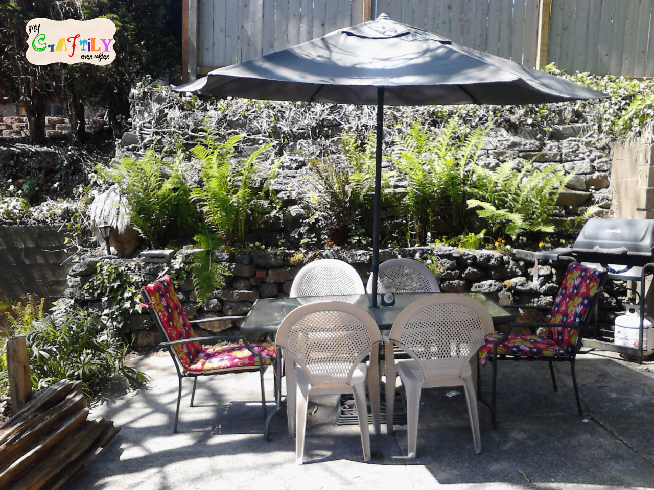 Upgrading the Patio Furniture - My Craftily Ever After