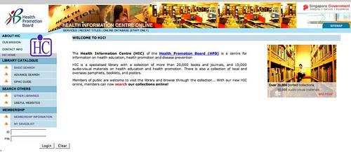 HPB Health Information Centre