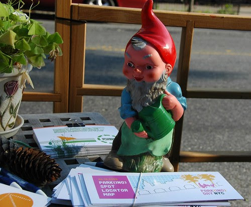 Park(ing) Gnome, Cortelyou Road Park, Flatbush, Brooklyn