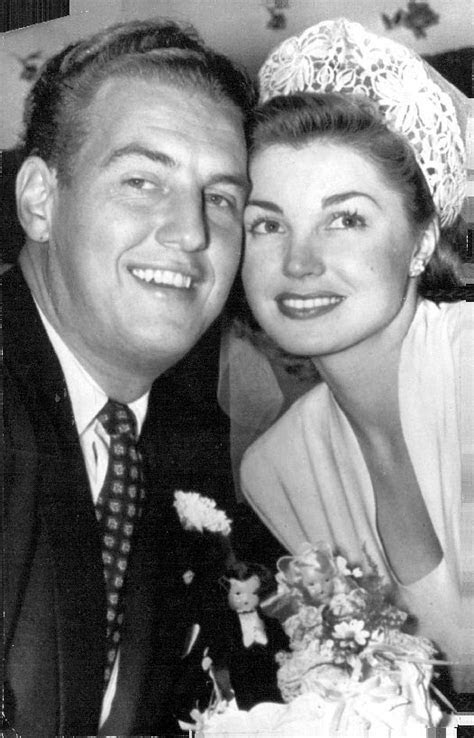 Esther Williams and husband Ben Gage   Esther Williams in