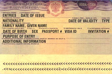 Emigrate Or Immigrate Russian Visa Application Form