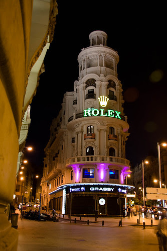 Rolex! Madrid Nights