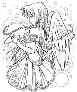 Dibujos Para Colorear De Amor Anime Besos Animes De Amor Para
