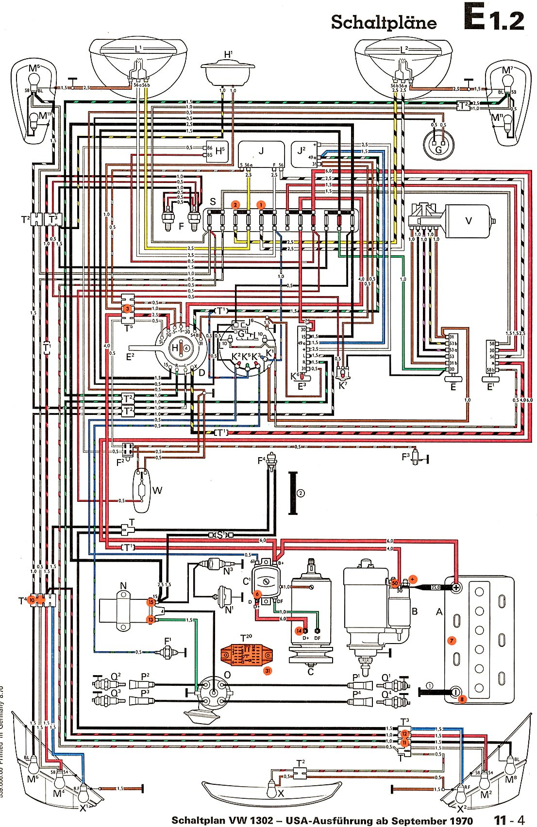 Diagram In Pictures Database 1970 Vw Bus Fuse Box Just Download Or Read Fuse Box Patrice Ordas A Tape Diagram Onyxum Com
