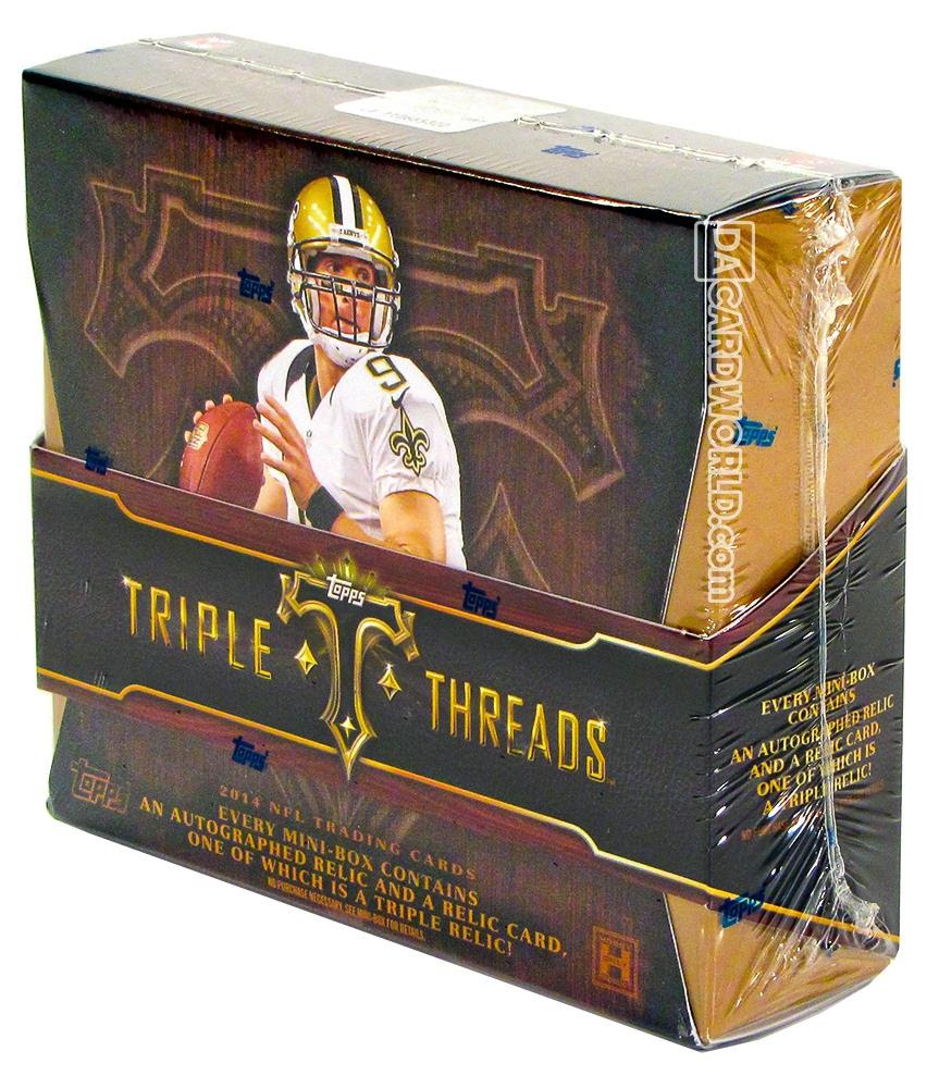 2014 Topps Triple Threads Football Hobby Box  DA Card World