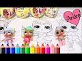 Dibujos Para Imprimir Y Colorear De Munecas Lol