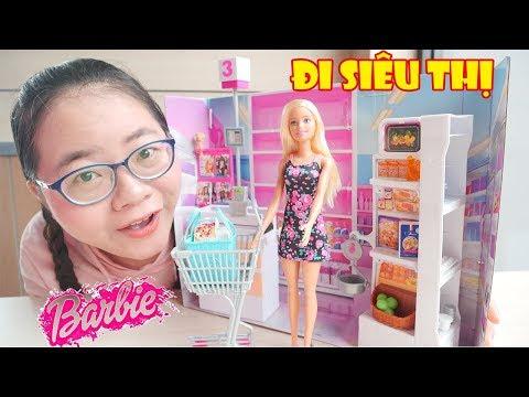 Đi Siêu Thị Cùng Chị Cà Chua và Búp Bê Barbie