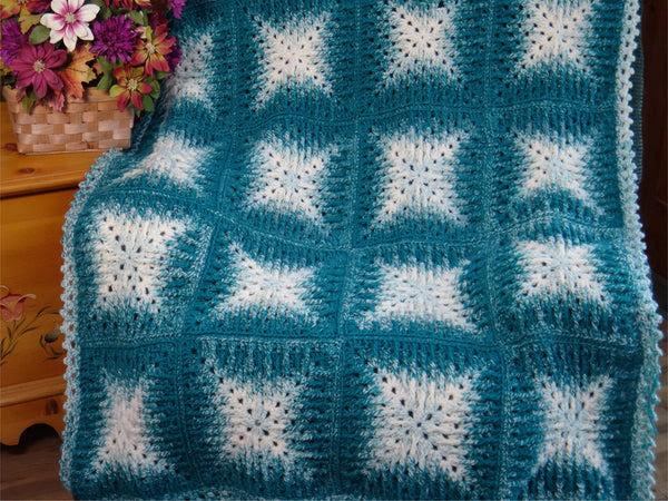 Crochet Kit - Mosaic Magic Afghan
