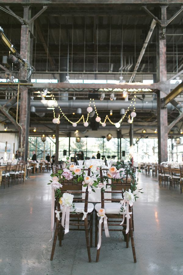 Philadelphia Industrial Wedding // via ruffledblog.com