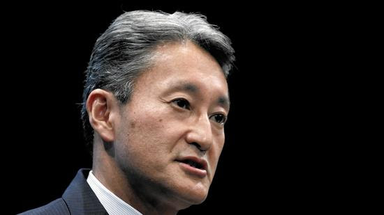 Sony Chief Executive Officer Kazuo Hirai