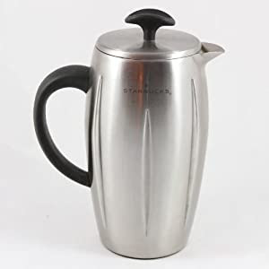 Starbucks Barista Stainless Steel Thermal Coffee Press 8-Cup: Amazon.co.uk: Kitchen & Home