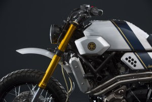 Yard Built XSR700 by Bunker Custom Motorcycles