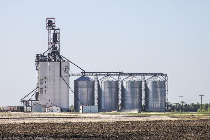 Paterson grain elevator in Winnipeg