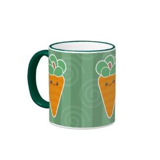 Crunchy Carrots Kawaii Mug mug