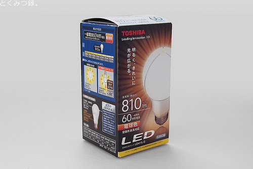 東芝 E-CORE(イー・コア) LED電球 LDA11L-G