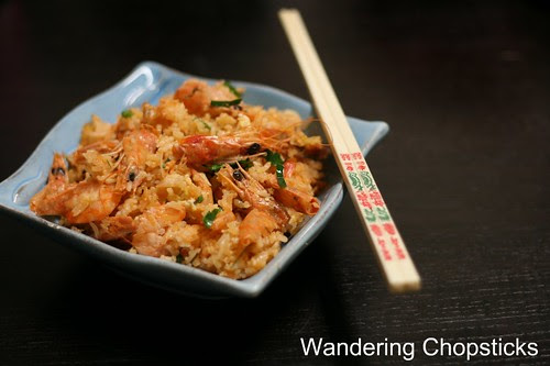 Tom Yum Fried Rice with Shrimp Roe and Kaffir Lime Leaves 14