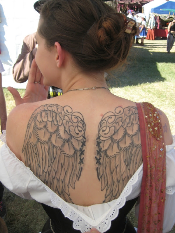 Baby Angel Wing Tattoos For Women Tattoos Designs Ideas