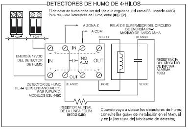 Sistemas alarmas como conectar detectores de humo - Detectores de humos ...