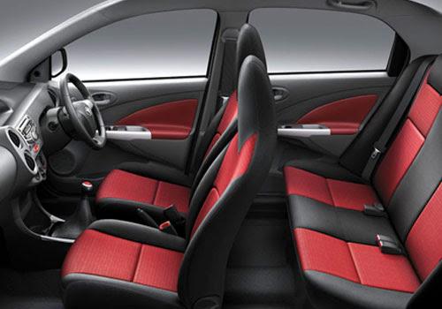 Toyota Etios Liva Front Seats
