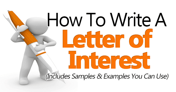 30+ amazing letter of interest samples & templates.