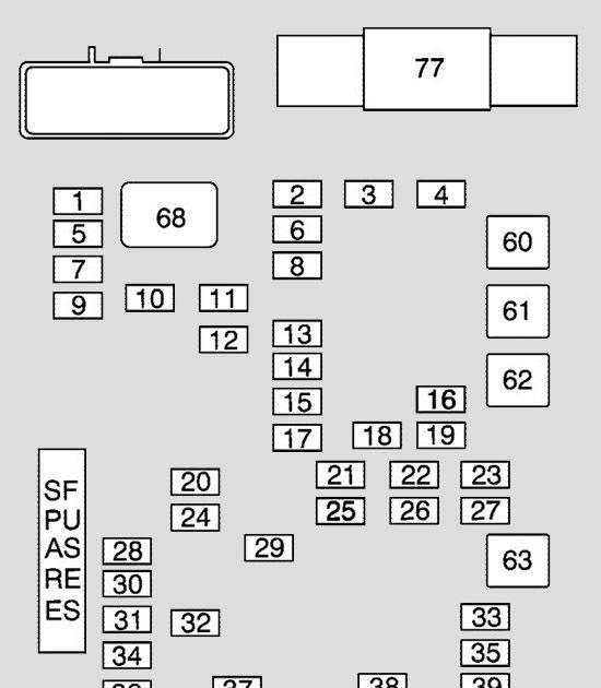 1997 Ford E350 Fuse Box Diagram