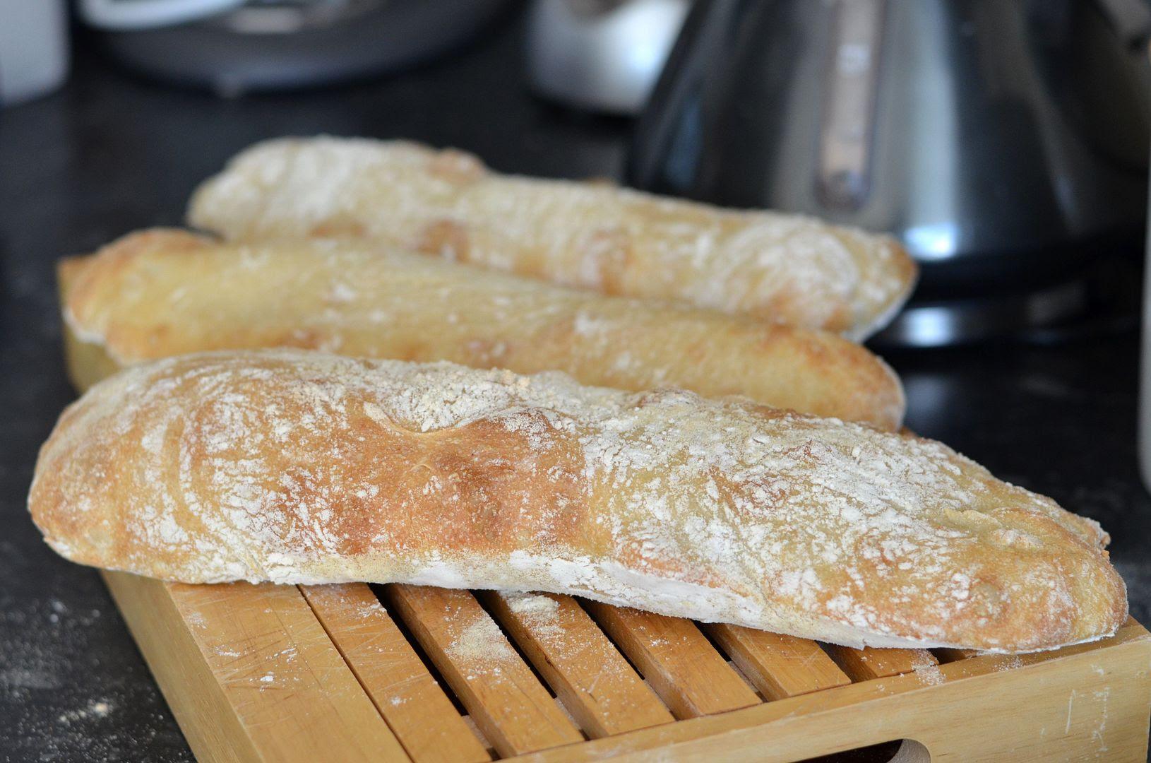 Home Baked Ciabatta