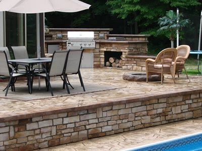 Concrete Patios - Orrville, OH - Photo Gallery - The Concrete Network
